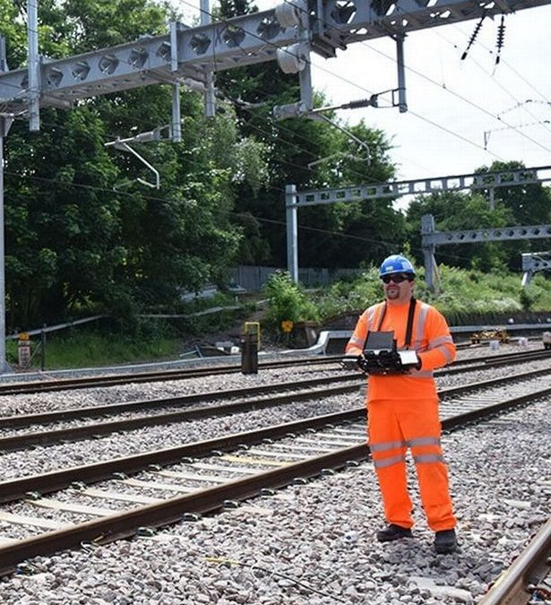 Heliguy drones to take to the skies as part of £2.6m Network Rail deal