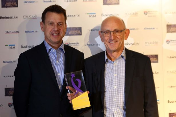 Greggs boss Roger Whiteside is North East Business Executive of the Year