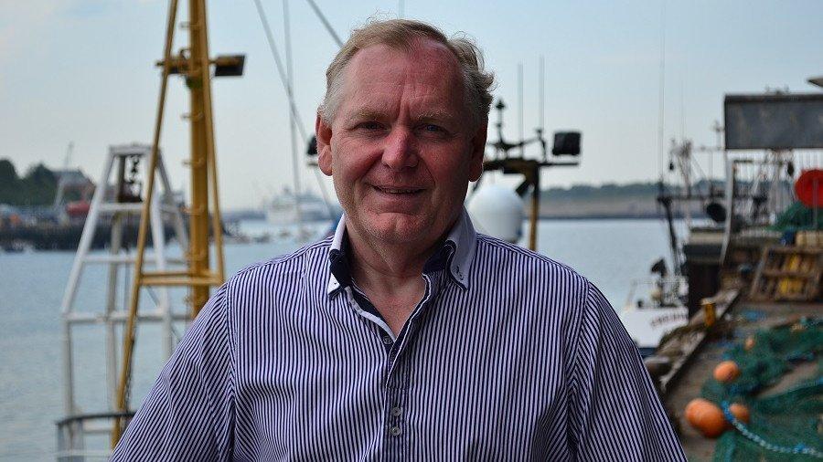 Chief executive Ian Robinson